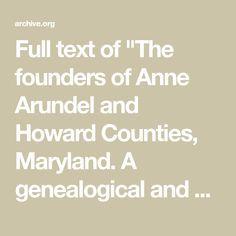 34 Best Howard images in 2018 | Maryland, Genealogy, Howard