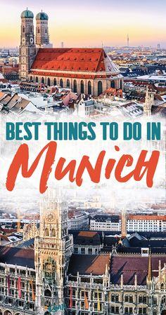 Best Things to Do in Munich Germany - a complete guide to Munich travel. Explore Bavaria's capital and all the beer gardens, museums, palaces and parks the city has to offer. Start your day in Marienplatz and end it with a liter of beer at the Hofbrauhaus Backpacking Europe, Europe Travel Guide, Travel Guides, Travel Destinations, Germany Destinations, Europe Packing, Travel Abroad, Holiday Destinations, Budget Travel