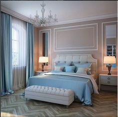 Fabulously Transform Bedroom Decor For Romantic Retreat - Bedroom Design Ideas - # for Master Bedroom Design, Home Decor Bedroom, Bedroom Furniture, Furniture Design, Bedroom Ideas, Bedroom Designs, Bedroom Pictures, Classic Bedroom Decor, Budget Bedroom