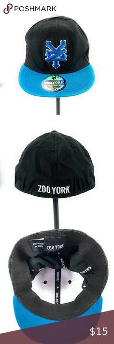 Core Logo Baseball Cap Black One Size Zoo York Mens