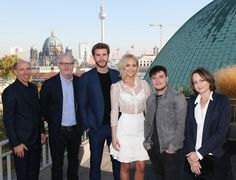 Mockingjay 2: Berlin Press Conference (Just and FYI: As they are in Berlin, Germany for the World Premiere it makes sense that the article is in German and from the photos it looks like they held two different press conferences)