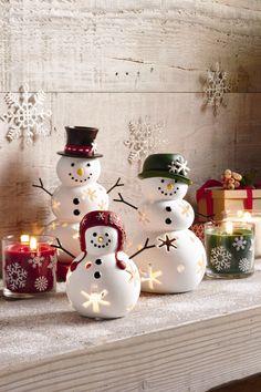 Retrouvez les Porte_bougies de la famille Neige sur notre E-boutique.  #HappyPartyLitePeople