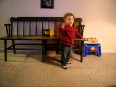 Born with Prader-Willi Syndrome, Connor walking.avi Awww bless his heart :)