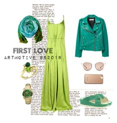 """First love#2"" by artmotivepainting on Polyvore featuring мода, Roberto Cavalli, Dsquared2, Fly LONDON, MANGO, Fendi и Karen Millen"
