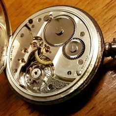 Slowing down time to see the intricate mechanics of a Victorian era pocket watch #technology #mechanics #watch #pocketwatch #time #slowmotion #heirloom
