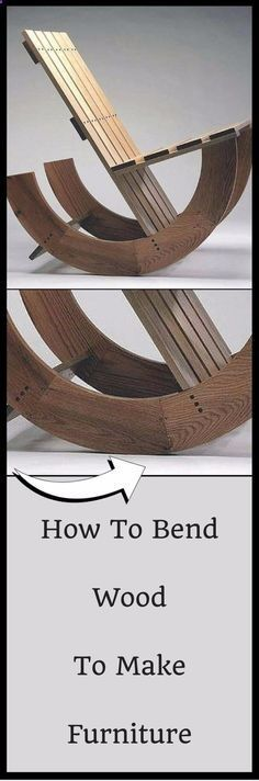 Cool Woodworking Tips - Bend Wood To Make Furniture - Easy Woodworking Ideas, Woodworking Tips and Tricks, Woodworking Tips For Beginners, Basic Guide For Woodworking diyjoy.com/...