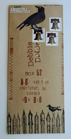 Envelope Art 9 | Flickr - Photo Sharing!