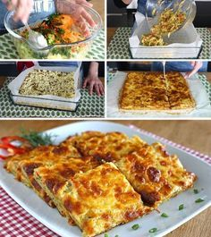 Nutritious and Very Delicious Breakfast Pastry – Delicious Recipes - Frühstück Breakfast Pastries, Breakfast Items, Breakfast Recipes, Turkish Recipes, Italian Recipes, Ethnic Recipes, Turkish Breakfast, Turkish Sweets, Good Food
