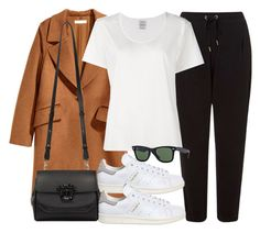 """Sin título #11878"" by vany-alvarado ❤ liked on Polyvore featuring H&M, Miss Selfridge, Visvim, adidas, Versace and Ray-Ban"