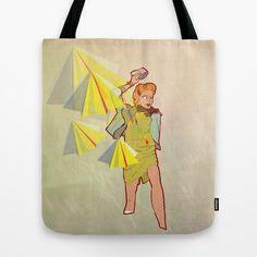 """""""Woman in the rain"""". Tote Bag en vente sur society6."""