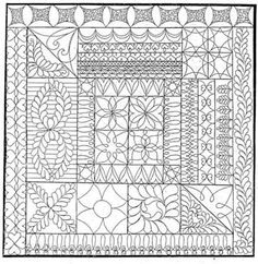 Free Hand Quilting Patterns | Hand Quilting Patterns Free