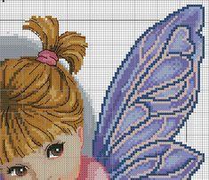 Fotos de la comunidad Fantasy Cross Stitch, Cross Stitch Fairy, Cross Stitch Angels, Cross Stitch Designs, Cross Stitch Patterns, Photos Du, Wall Photos, Diy And Crafts, Projects To Try