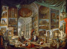 Giovanni Paolo Panini - Gallery of Views of Ancient Rome