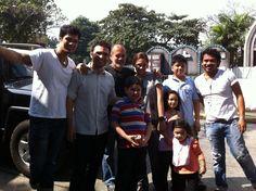 Cementerio del Norte visit, 2012