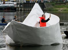 real life paper boat