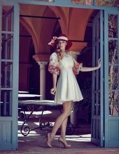-La Sevillana- para Revista elegante / / http://www.joannakustra.com/
