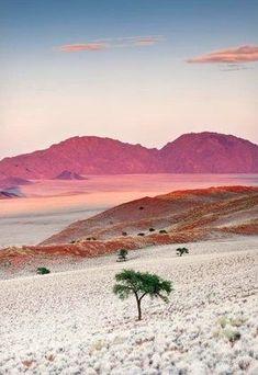 Sunrise, Namibia, Africa Credit: Nadia Isakova