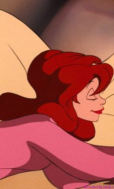 Sleeping Ariel