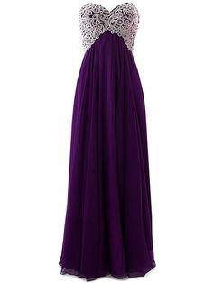 prom dress, 2016 prom dress, long prom dress, sweetheart prom dress, purple chiffon prom dress, graduation dress, party dress