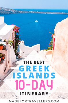 Want to travel to the Islands in Greece? This is the perfect itinerary fo… Would you like to travel to Greece to the islands? This is the perfect itinerary to explore the most beautiful islands of Greece, including Santorini! Greek Islands To Visit, Best Greek Islands, Greece Islands, Greek Islands Vacation, Greece Itinerary, Greece Honeymoon, Santorini Travel, Greece Travel, Greece Trip