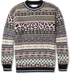 Sibling Oversized Fair Isle Lambswool Sweater | mens sweater | wantering | menswear | mens style | mens fashion | fabulous