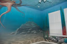 underwater mural  www.artistjasonjones.com