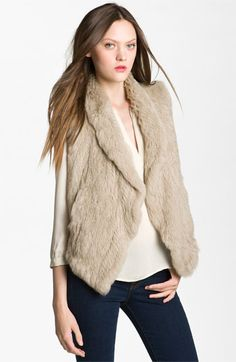 adorable vest. i just can't wear real fur though. need to look for a faux version!