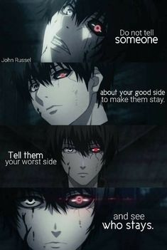 Free KissAnime Alternatives 14 Best Streaming Sites For Anime Fans is part of Tokyo ghoul quotes - Have you run out of things to bingewatch on KissAnime Here are some free options to stream anime series shows and movies online! Sad Anime Quotes, Manga Quotes, Citation Style, Tokyo Ghoul Quotes, Rasengan Vs Chidori, Dark Quotes, Anime Life, Badass Quotes, True Quotes