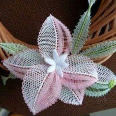 İğne Oyası Küpe Çiçeği Örnekle