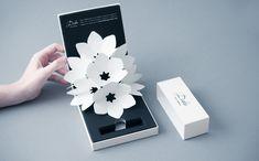 Fleur Paper Art Design Déployée