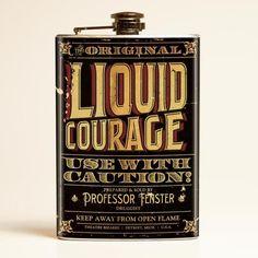 Theatre Bizarre Liquid Courage Flask from Retro-a-go-go! Make Your Own Wine, Renz, Wine Reviews, Wine Online, Ms Gs, Wine Tasting, Professor, Wines, Red Wine