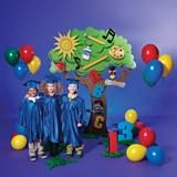 Learning Tree Complete Theme This colorful Learning Tree Preschool or Kindergarten Graduation theme Graduation Crafts, Pre K Graduation, Graduation Theme, Kindergarten Graduation, Graduation Decorations, School Decorations, College Student Gifts, Bunt, Classroom