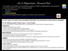 Instructions for your research task