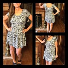 Black & White Cap Sleeve Dress Size XLarge BNWT Black & White Cap Sleeve Dress Size XLarge BNWT This dress has a scoop neck and is very darling on. Thanks for Looking! ⛔️No PP/Trades✅Offers Considered ✅Bundle Discounts Classic Woman Dresses Midi