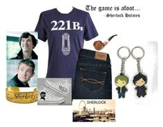 """Sherlock Holmes special movie!"" by flroasburn ❤ liked on Polyvore featuring Watson's, Abercrombie & Fitch and Converse"