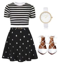 """""""Print on print"""" by insha-firdous on Polyvore featuring Topshop and River Island"""