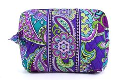 Vera Bradley Large Cosmetic (Heather)