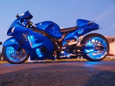 blue berry Hayabusa  *drool*