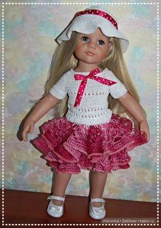 """""""Сказочная фея"""" - Подарок для Марии от Gotz / Одежда и обувь для кукол - своими руками и не только / Бэйбики. Куклы фото. Одежда для кукол"""