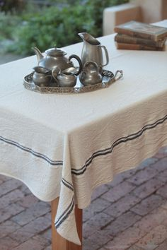 Beautiful tablecloth from the Barrydale Weavers
