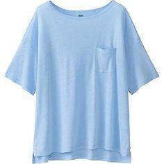 Women's Modal Linen Boxy T-Shirt