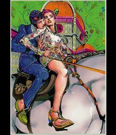 Ispirandosi alla collezione Cruise 2013 di Frida Giannini, il mangaka Hirohiko Araki ha creato un esclusivo Manga (un fumetto giapponese) che animerà le vetrine dei negozi di proprietà Gucci di tutto il mondo nei mesi di gennaio e febbraio.   https://www.facebook.com/GUCCI/app_462427440487746