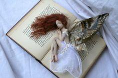 Tessa sweetly sleeping  OOAK Fairy Art Doll by AimiDunnArt on Etsy, $800.00