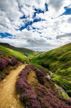 Derbyshire, England by Richstroller.  I'm not sure, but I think  the terrain in northern England is the most interesting.
