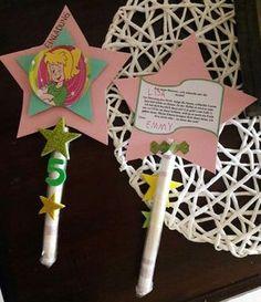 Einladung für den 5.Geburtstag meiner Tochter... Bibi Blocksberg Party