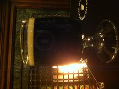 Beer in front of the fire at The Marble Arch, Manchester.
