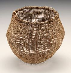 Colleen Mundy | 'Tayanebe' Series | Woven fibre basket | Tasmanian Aboriginal Basket Weaving