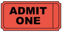 Free Printable Admit One Ticket Template