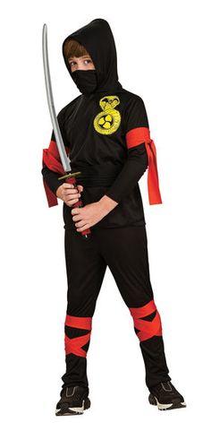 Cobra ninja asu lapsille. Hiipivä ninja on loistava vakooja, urhea taistelija, sekä vihollisten pahin pelko. KIAI!!! #naamiaismaailma