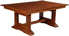 """Amish Outlet Store : 42"""" x 66"""" Santa Ana Table in Oak"""